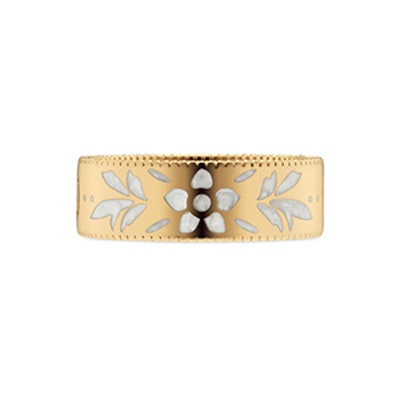 Icon Ring in Yellow Gold