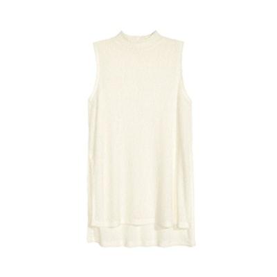 Fine-knit Sleeveless Top