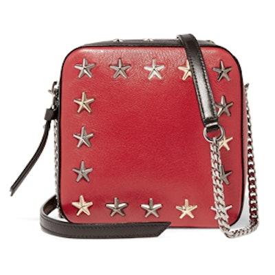 Sunny Studded Leather Shoulder Bag