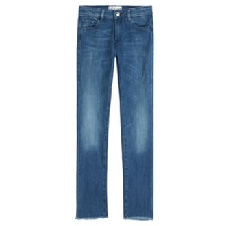 Oyster Cropped Jeans