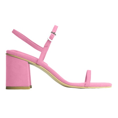 The Simple Sandal in Peony