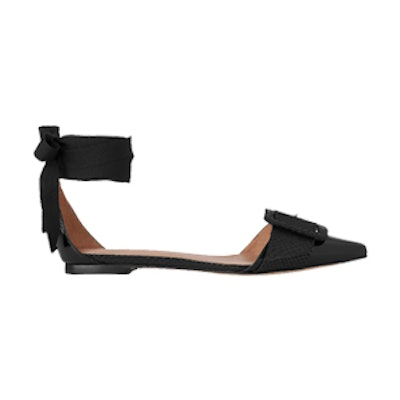 Avalon Ankle Tie Flat Point
