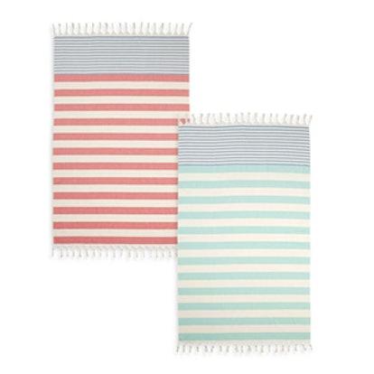 Cabana Stripe Turkish Cotton Beach Towel