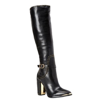 Brin Tall Studded Leather Boots