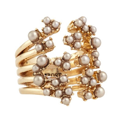 Jackie Stacked Cluster Ring