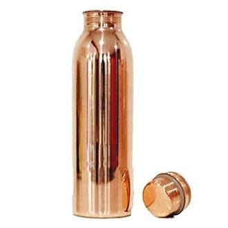 100% Pure Copper Ayurvedic Water Bottle