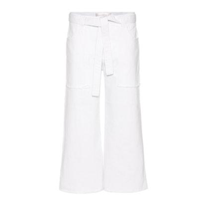 Patch Pocket Denim Culottes