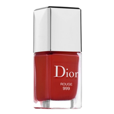 Dior Vernis Gel Shine and Long Wear Nail Lacquer in Rouge 999