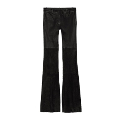 Gigi Flared Leather Pant
