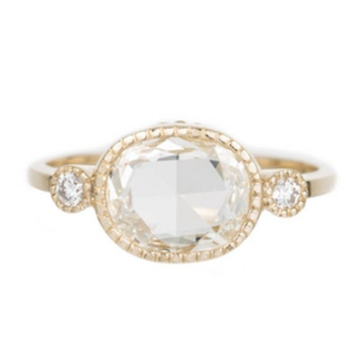 1.06 Carat Oval-Cut Diamond Ring