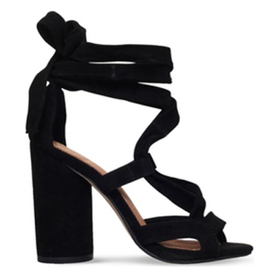 Mia Suedette Heeled Sandals