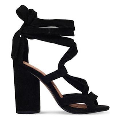 Mia Suedette Heeled Sandals