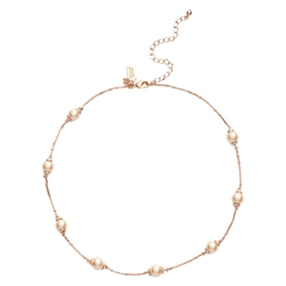 Pearls Of Wisdom Scatter Collar Necklace