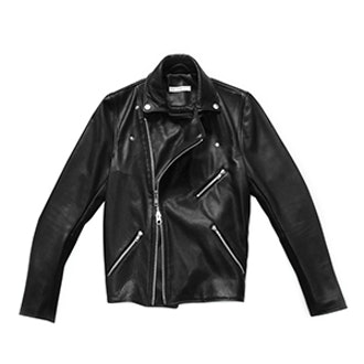 Lautner Leather Biker