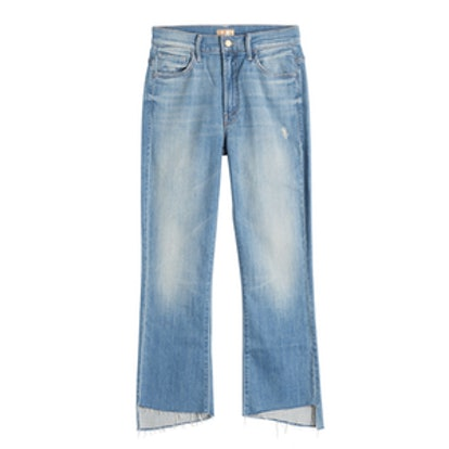 The Insider Crop Step Jeans
