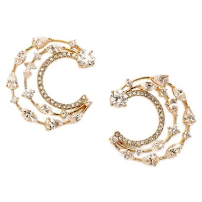 Celeste Cubic Zirconia Stud Earrings