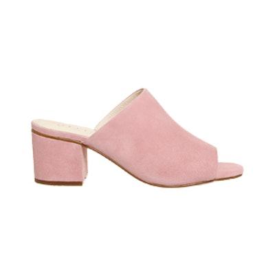 Madnesss Block Heel Mule Sandals