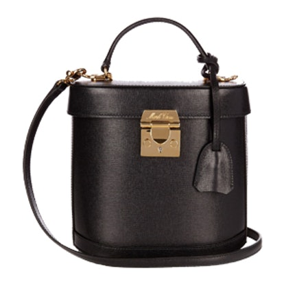 Benchley Saffiano-Leather Shoulder Bag