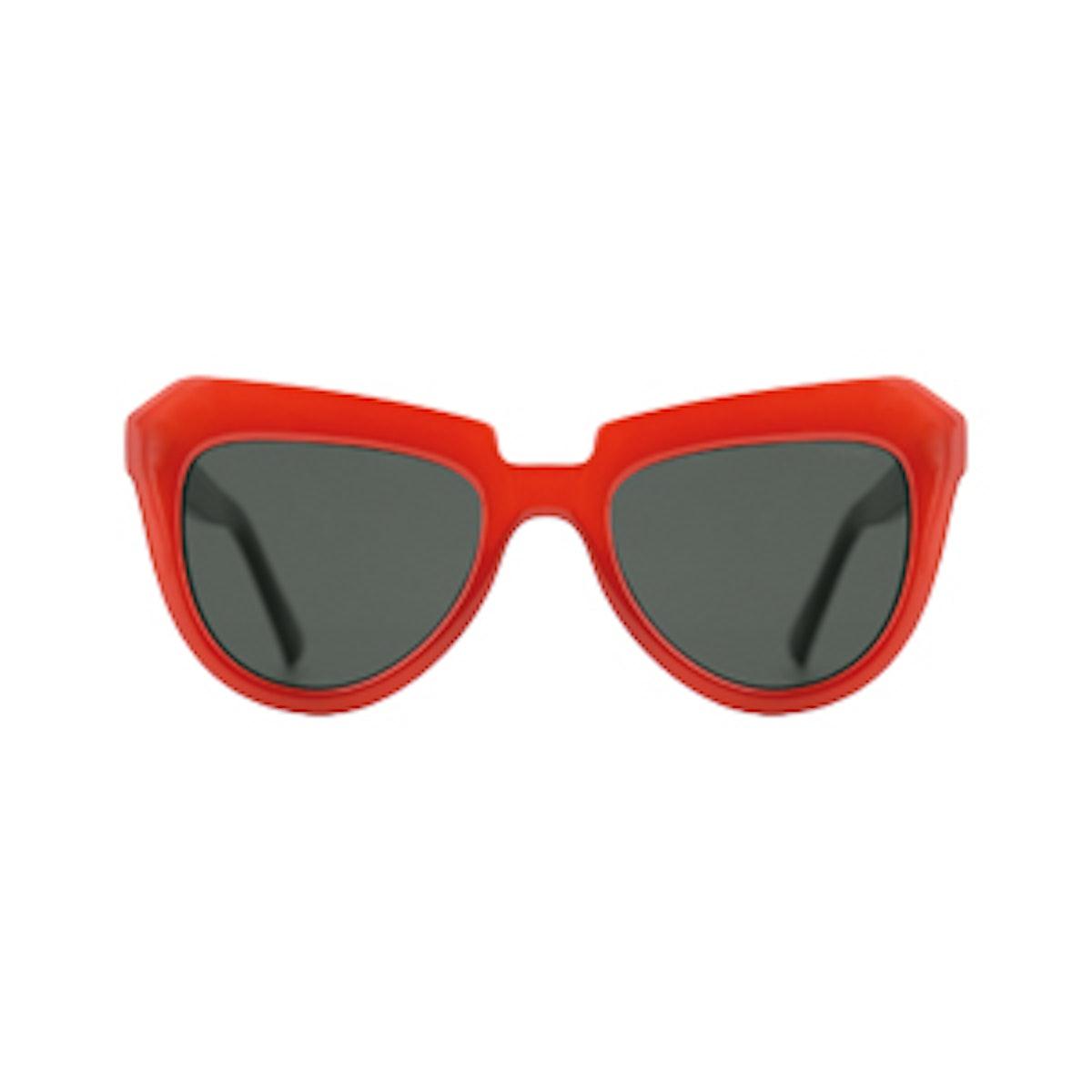 Stella Milky Red Sunglasses