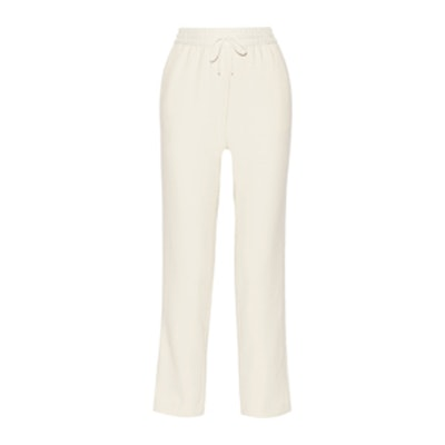 Collier Satin-Trimmed Stretch-Twill Track Pants