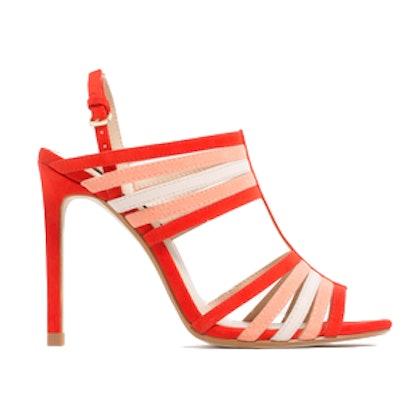 Multicolored Straps Sandals