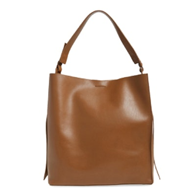 Paradise North/South Leather Tote