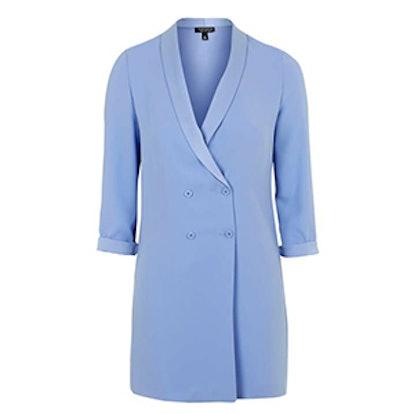 Soft Textured Blazer Dress