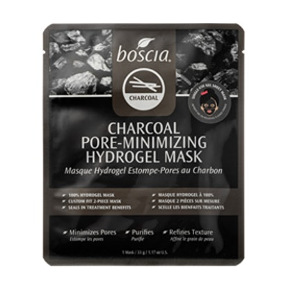 Charcoal Pore-Minimizing Hydrogel Mask
