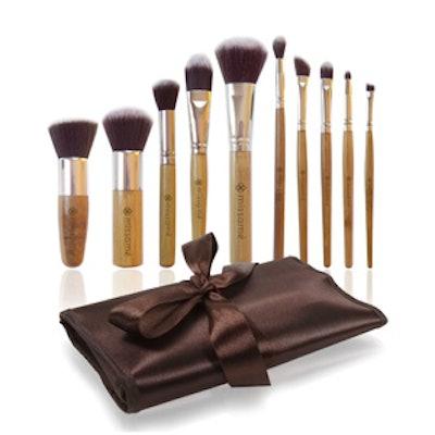 10 Piece Makeup Brush Set