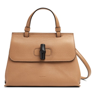Bamboo Daily Leather Top Handle Bag