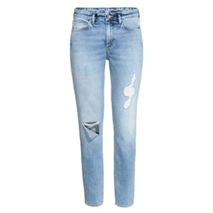 Relaxed Skinny Ankle Jeans