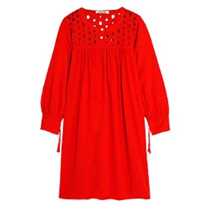 Eyelet Daybreak Dress