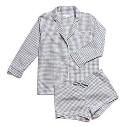 Maya Check Short Pajama Set