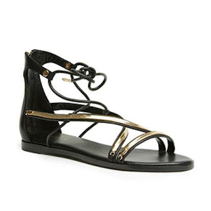 Babette Lace-Up Sandals