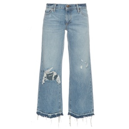Yerma Distressed Cropped Jeans