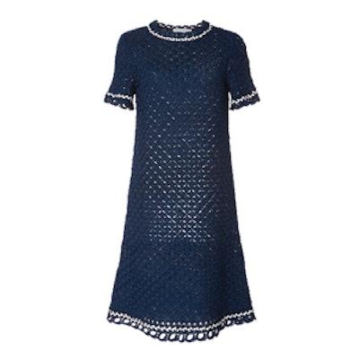 Violette Silk Knit Dress