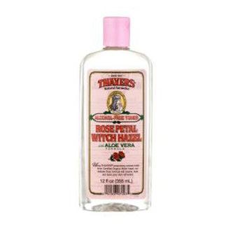 Alcohol-Free Rose Petal Witch Hazel with Aloe Vera