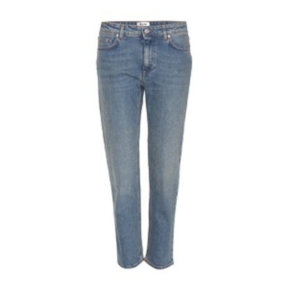 Row Cropped Jeans