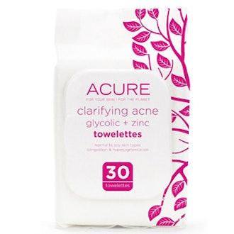 Clarifying Acne Towelettes