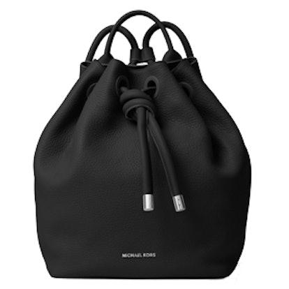 Dalia Large Leather Backpack