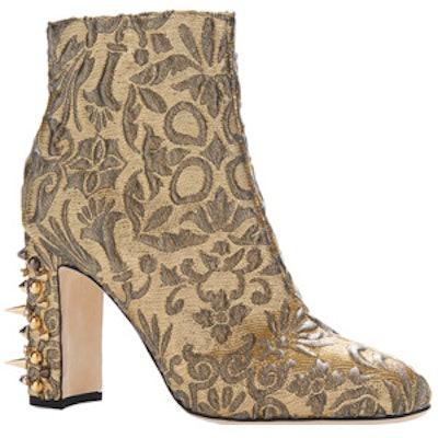 Jacquard Lurex Boot