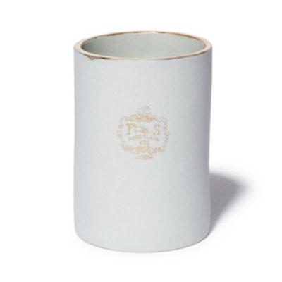 Joya Ames Soeurs Gold Rim Candle