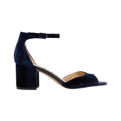 Susie Velvet Sandals