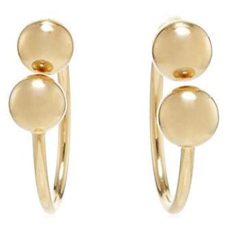 Double Ball Earrings