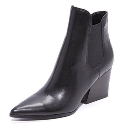 Kendall + Kylie Finley Leather Bootie