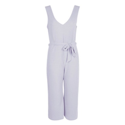 Laura Ribbed Culotte Jumpsuit