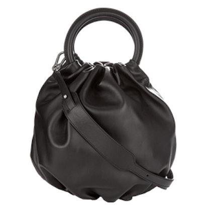 Bounce Leather Bucket Bag