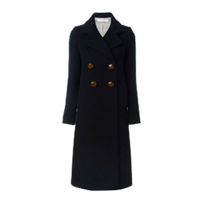 Double Breasted Long Coat