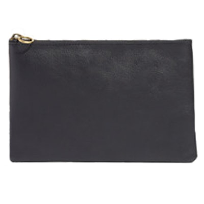 The Leather Pouch Clutch