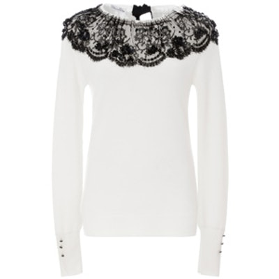 Lace Detailed Sweater